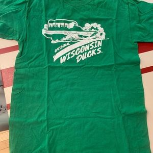 Vintage Style Wisconsin Duck Boat Shirt